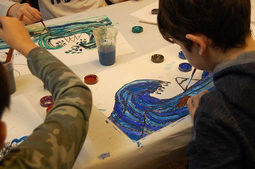 Curs de pictura pentru copii (8-12 ani)