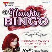 Valentines Naughty Bingo