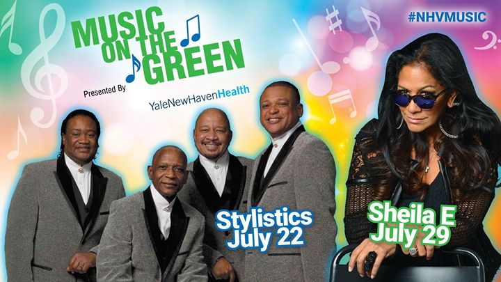 Music on the Green ft. The Stylistics & Sheila E.