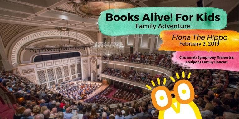 Books Alive Family Adventure with CSO
