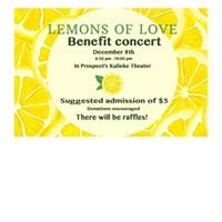 Prospect High School Benefit Concert for Lemons of Love