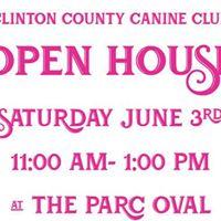 Clinton County Canine Club Open House
