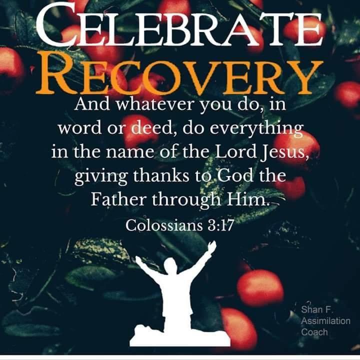 Celebrate Recovery Christmas Celebration At Community