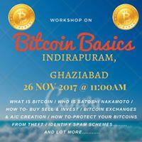 Bitcoin Basics A Workshop Indirapuram  Ghaziabad