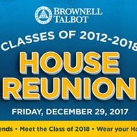 House Reunion - Classes of 2012-2018