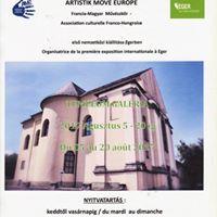 Expo du 5 au 20 aot  EGER (Hongrie)