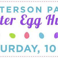 Patterson Park Easter Egg Hunt and Potluck Brunch