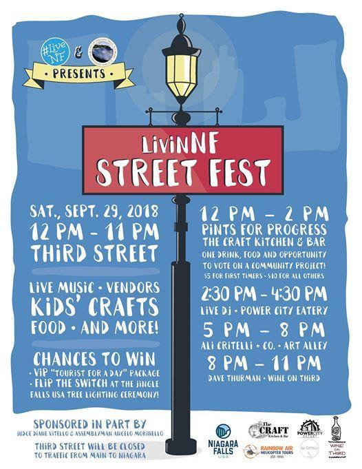Livinnf Street Fest At Art Alley Nf Niagara Falls