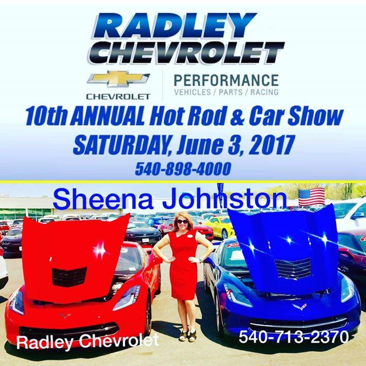 Radley Chevrolet 10th Annual Hot Rod Show   Fredericksburg