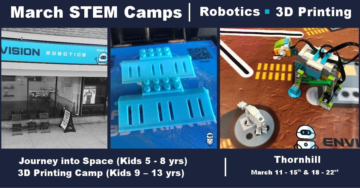 March Break Camp  3D Printing