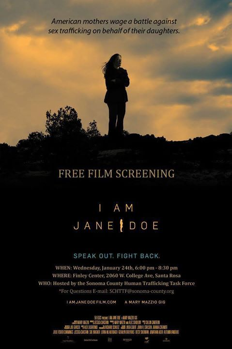 I am Jane Doe - Santa Rosa Film Screening