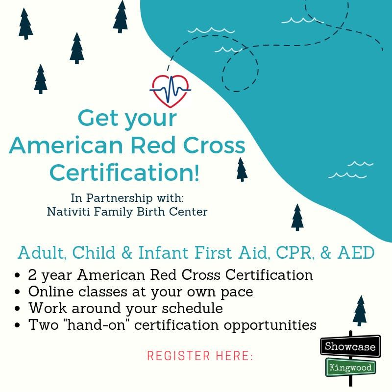 Adult Pediatric First Aidcpraed Certification Class At Nativiti