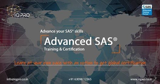 Official Advanced SAS Programmer Training and Certification
