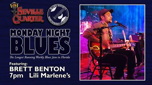 Monday Night Blues featuring Brett Benton