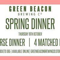 Green Beacon Spring Dinner