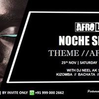 Afro Latin Noche Sensual  Afro Theme Night