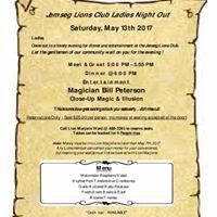 Jemseg Lions Club - Ladies Night Out