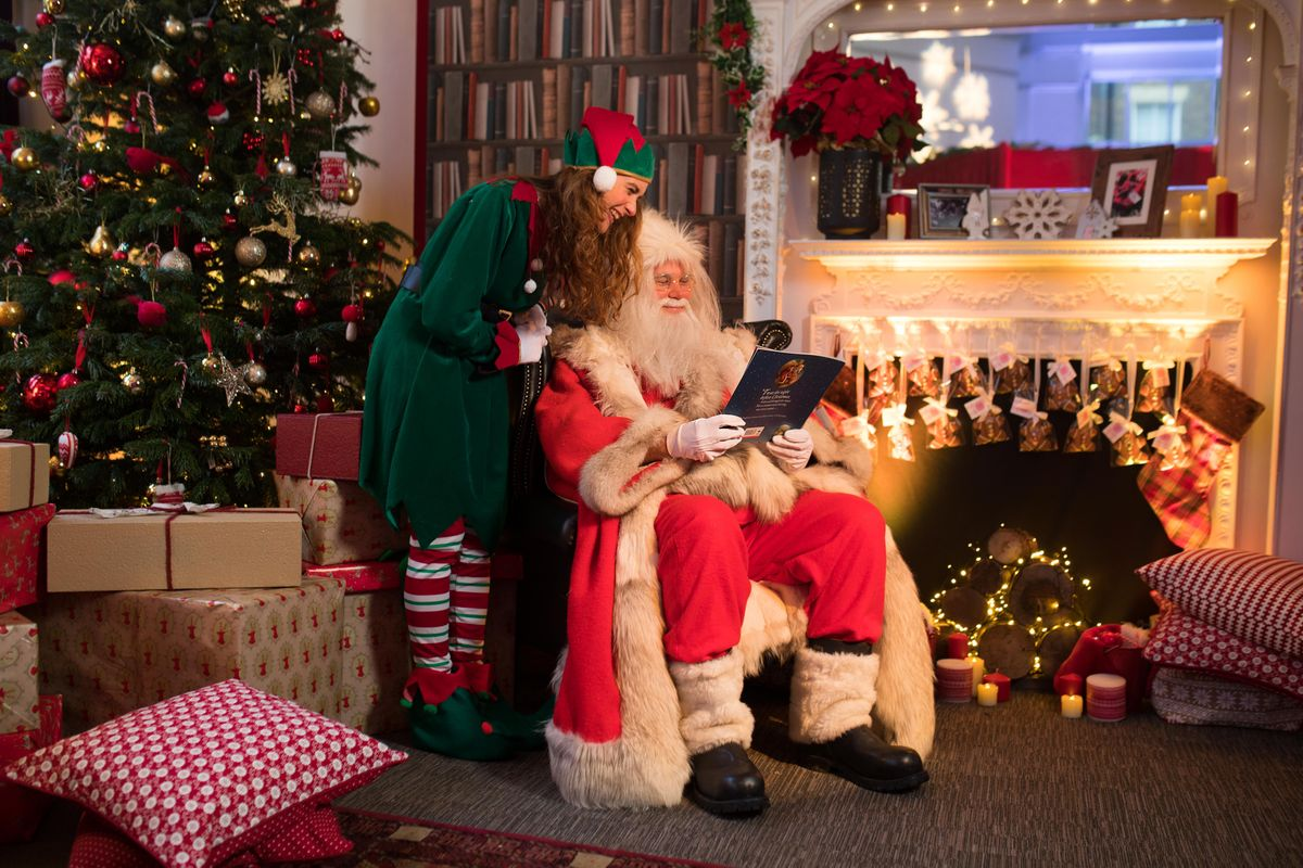 Story-time with Father Christmas