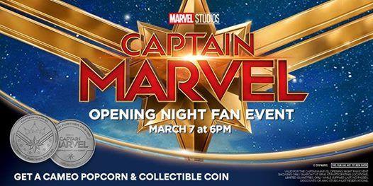 Captain Marvel Fan Event At The Grand Theatre Winston Salem5601