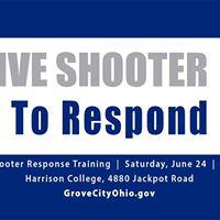 Active Shooter Response Training