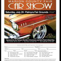 Marion County Fair Car Show
