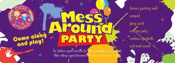 Messy Play Sheffield - Messy Party