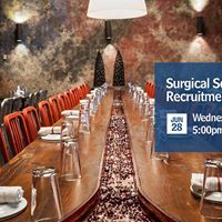 Surgical Services Recruitment Happy Hour