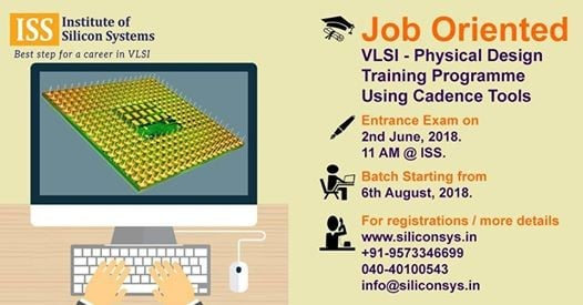 Vlsi Physical Design Institutes In Hyderabad: VLSI - Physical Design Training Programme Using Cadence Tools at rh:allevents.in,Design