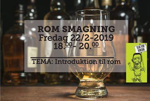 Romsmagning fredag d. 22 februar 2019