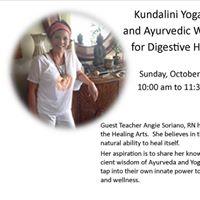 Kundalini Yoga and Ayurvedic wisdom for digestive health