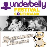 Screaming with laughter at Underbelly festival