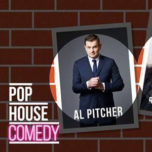 POP HOUSE Comedy  Al Pitcher &amp Shanthi Rydwall Menon