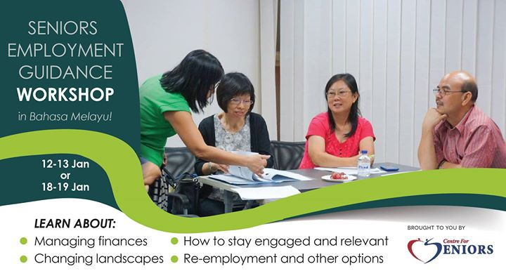 Seniors Employment Guidance Workshop (in Bahasa Melayu)