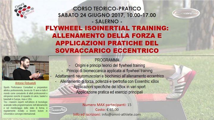 Corso Teorico-Pratico Flywheel Isoinertial Training