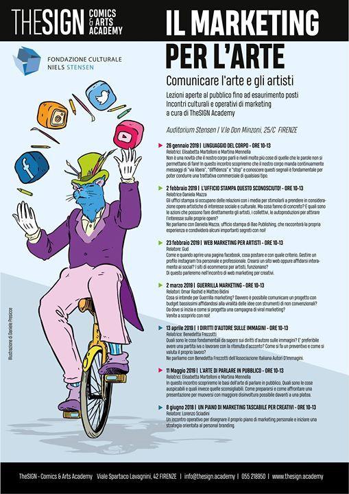 Comunicare larte e gli artisti - ciclo di incontri di marketing