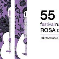 55 Festival Nacional de Folclore Rosa del Azafrn