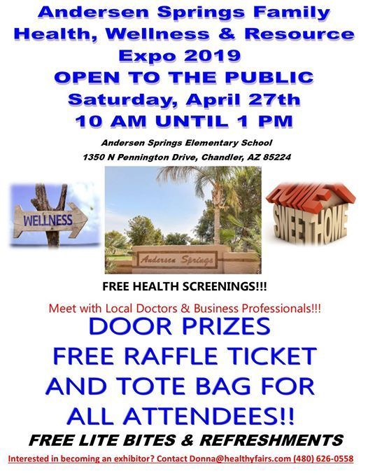 Andersen Springs Community Health  Home and Resource Expo 2019