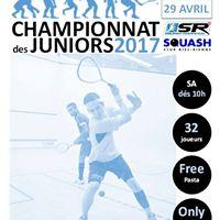 1er Championnat Juniors Squash Romandie 2017