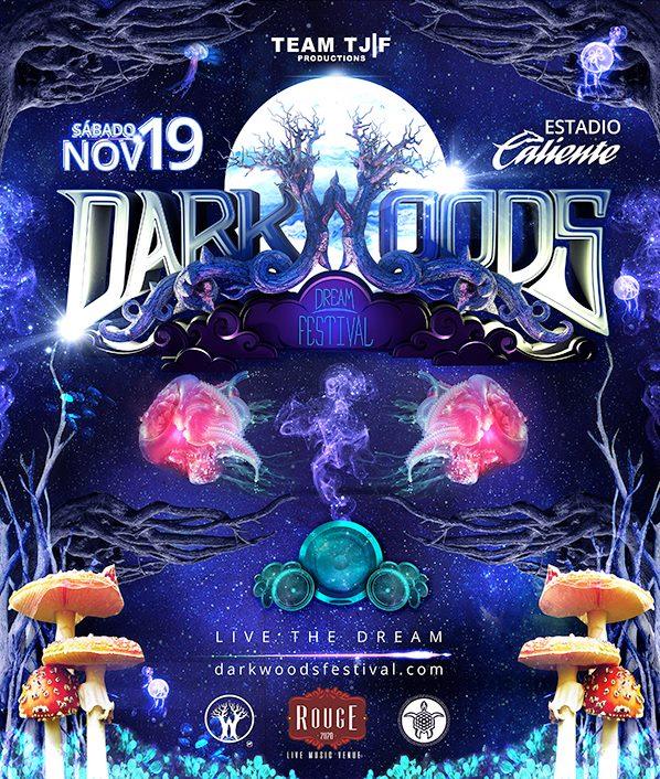 Dark woods dream festival at estadio caliente tijuana for Rio grande arts and crafts festival 2016