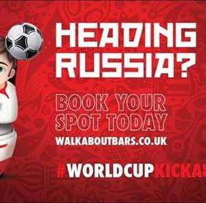 England vs Belgium - WC 2018 Live At Walkabout Blackpool