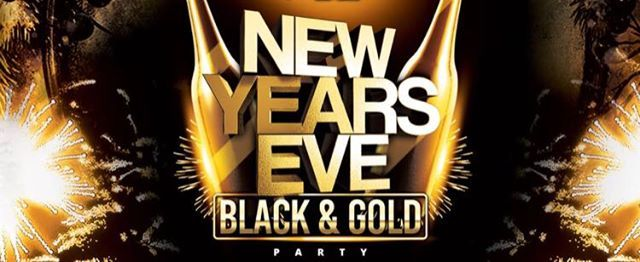 New Years Eve - Black & Gold