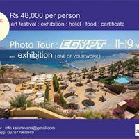 Egypt Photo tour with exhibition