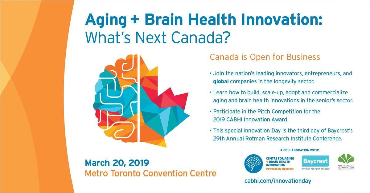 Aging and Brain Health Innovation Whats Next Canada