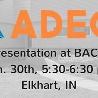 ADEC Presentation in Elkhart IN