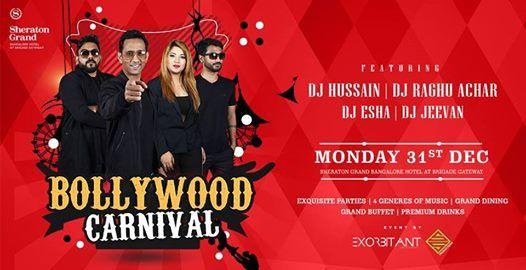 Bollywood Carnival at Sheraton Grand Banglore Hotel