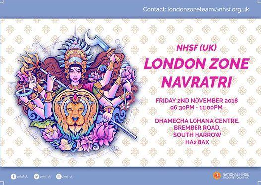 NHSF (UK) London Zone Navratri 2018