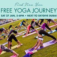 Free Yoga Journey - Sat 27th Jan 5-6pm