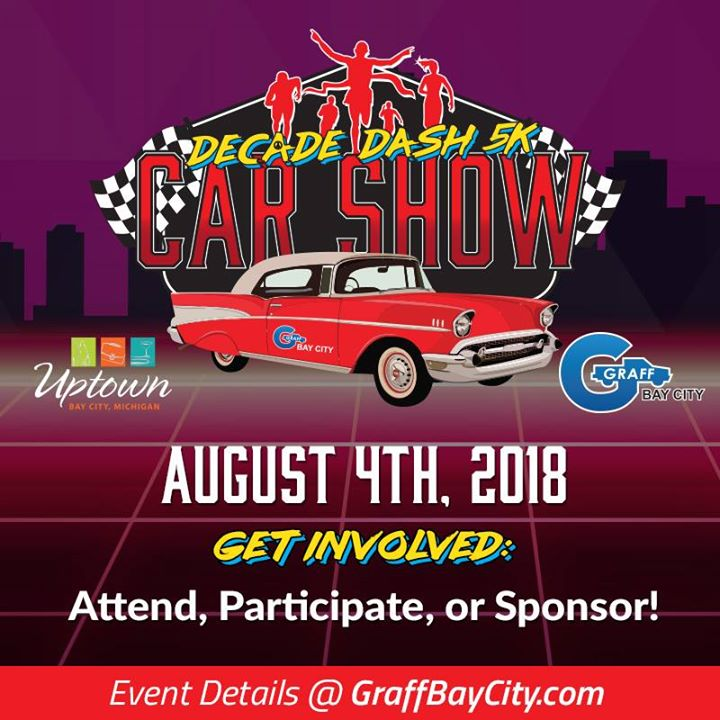 Decade Dash K Car Show At Uptown Bay City Bay City - Bay city car show 2018