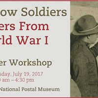 My Fellow Soldiers Letters From World War I Teacher Workshop