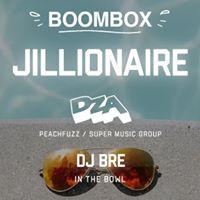 Boombox with Jillionaire  DZA